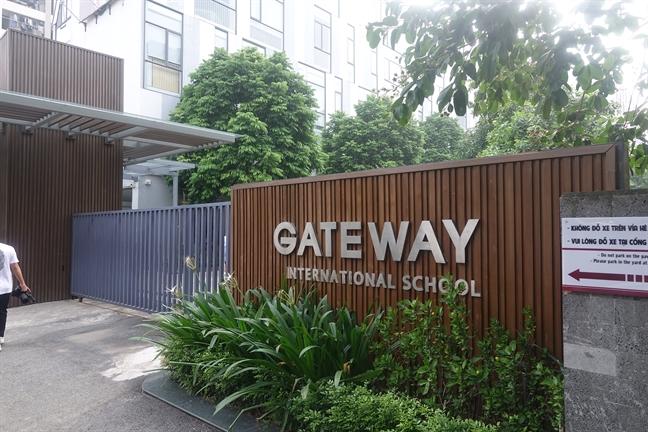 Trường tiểu học Gateway - nơi xảy ra sự việc cháu L. tử vong trong xe đưa đón