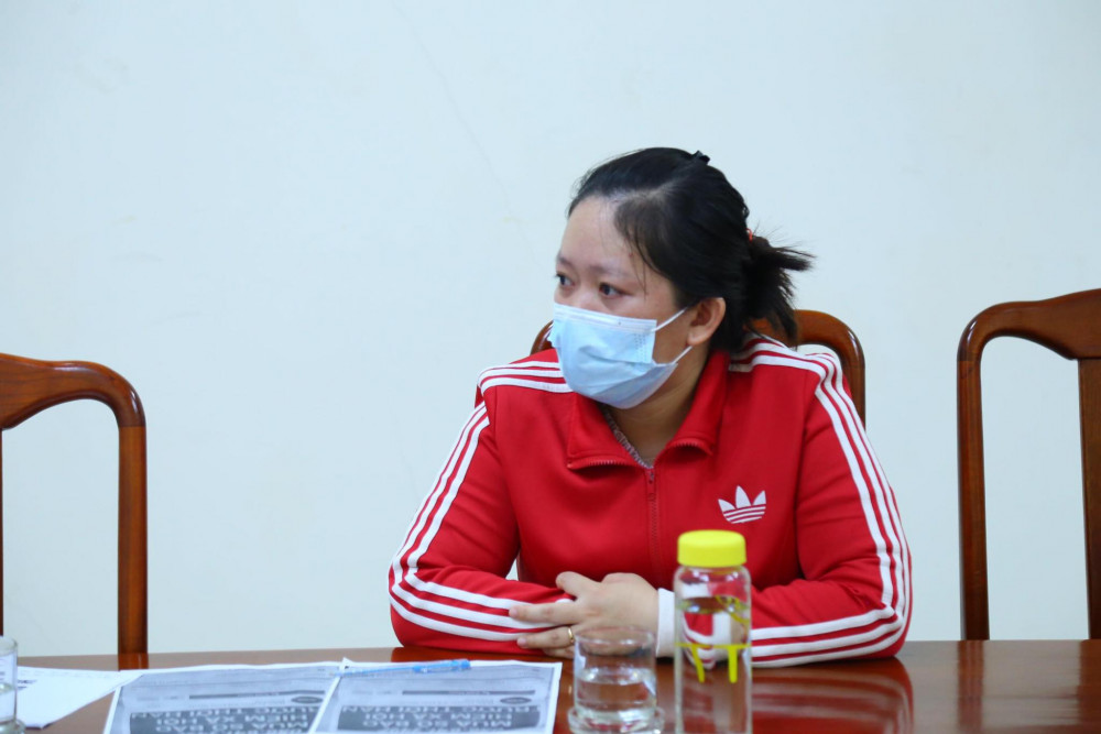 Ngô Thị Thuý Kiều đã thừa nhận hành vi và cam kết sẽ không tái phạm