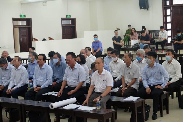 Hai cựu Chủ tịch UBND TP. Đà Nẵng và các đồng phạm bị đưa ra xét xử.