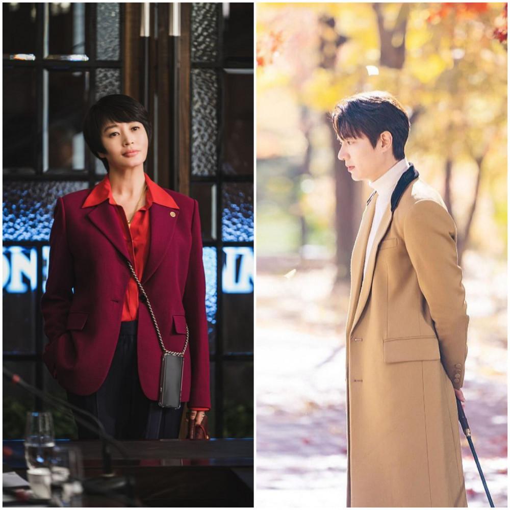 Có sự góp mặt của Kim Hye Soo (bên trái) và Lee Min Ho (bên phải) nhưng Hyena và Quân vương bất diệt vẫn chưa thành công như mong đợi.