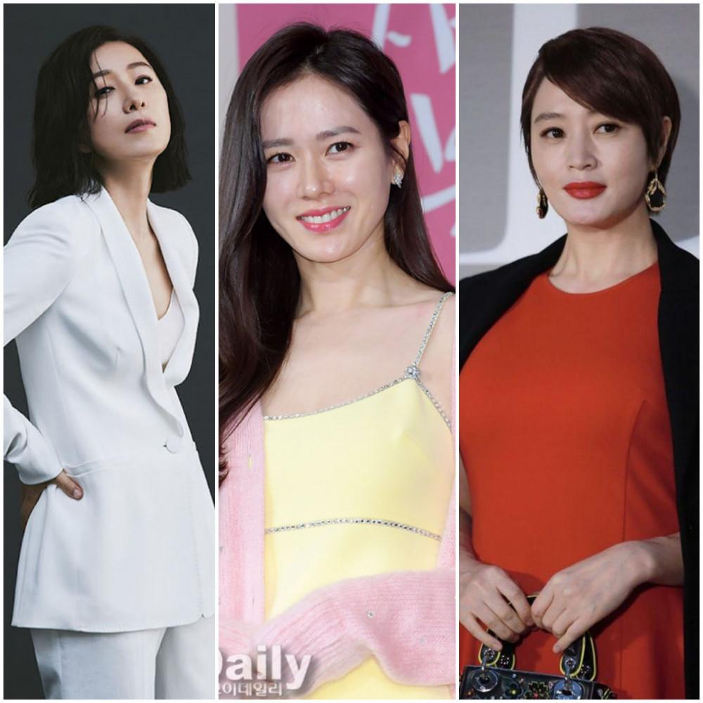 Kim Hee Ae, Son Ye Jin và Kim Hye Soo (lần lượt từ trái sang phải) chứng tỏ tài năng diễn xuất đỉnh cao của mình.