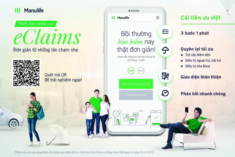 Manulife Việt Nam nâng cấp giải pháp số hóa trong trải nghiệm giải quyết quyền lợi bảo hiểm cho khách hàng