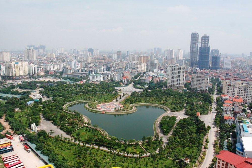 Việc đẩy mạnh đầu tư hạ tầng trong những năm qua giúp Hà Nội nhận được những đánh giá tích cực từ giới đầu tư - Ảnh minh họa