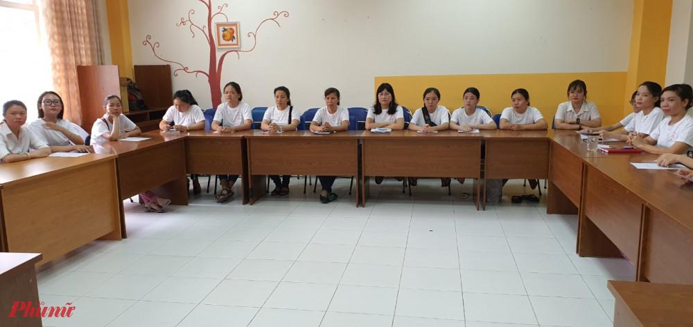 Một số hình ảnh khai giảng lớp học.