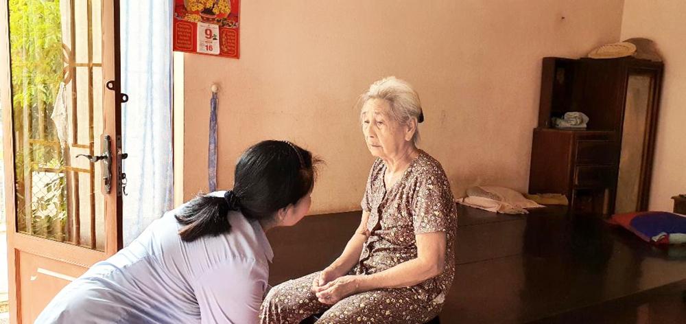Dì Hai và người cô đơn thân, 90 tuổi