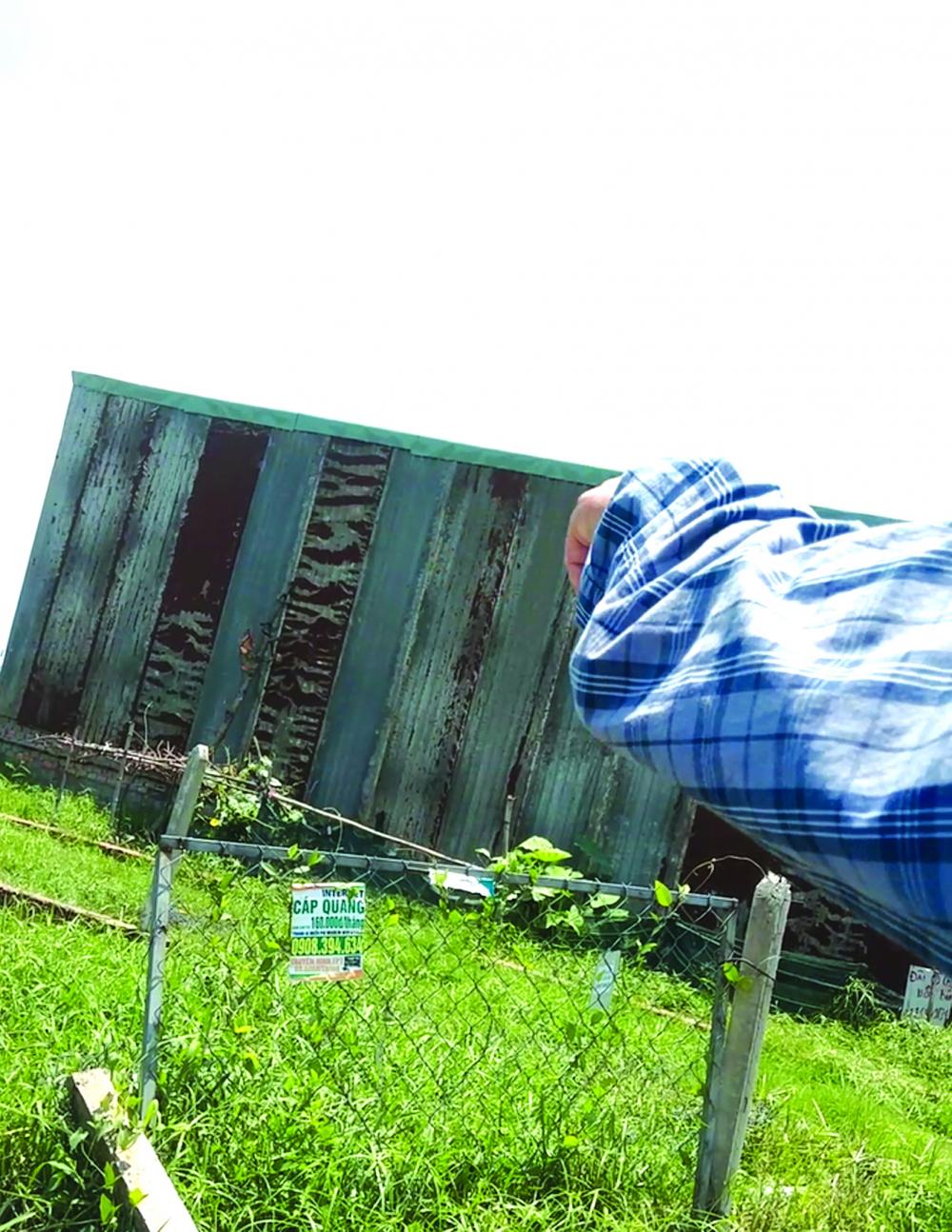 """Một """"hộp tôn"""" mọc lên giữa cánh đồng ở xã Vĩnh Lộc A nhờ những bàn tay quyền lực"""