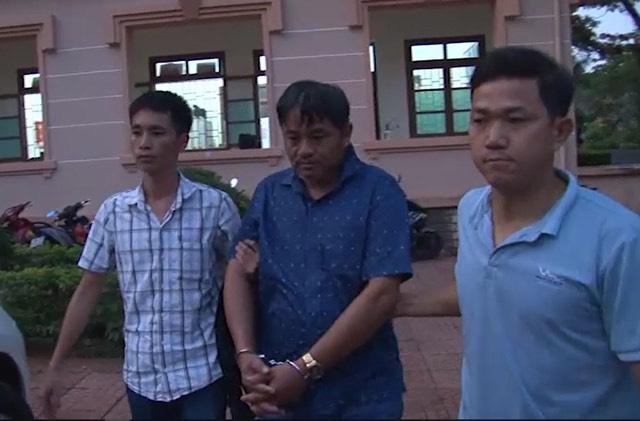 Đỗ Văn Minh bị bắt sau khi giết người rồi bỏ trốn