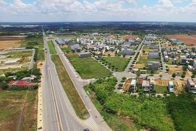 Một góc huyện Bình Chánh, TP. Hồ Chí Minh - Ảnh: Dân Việt