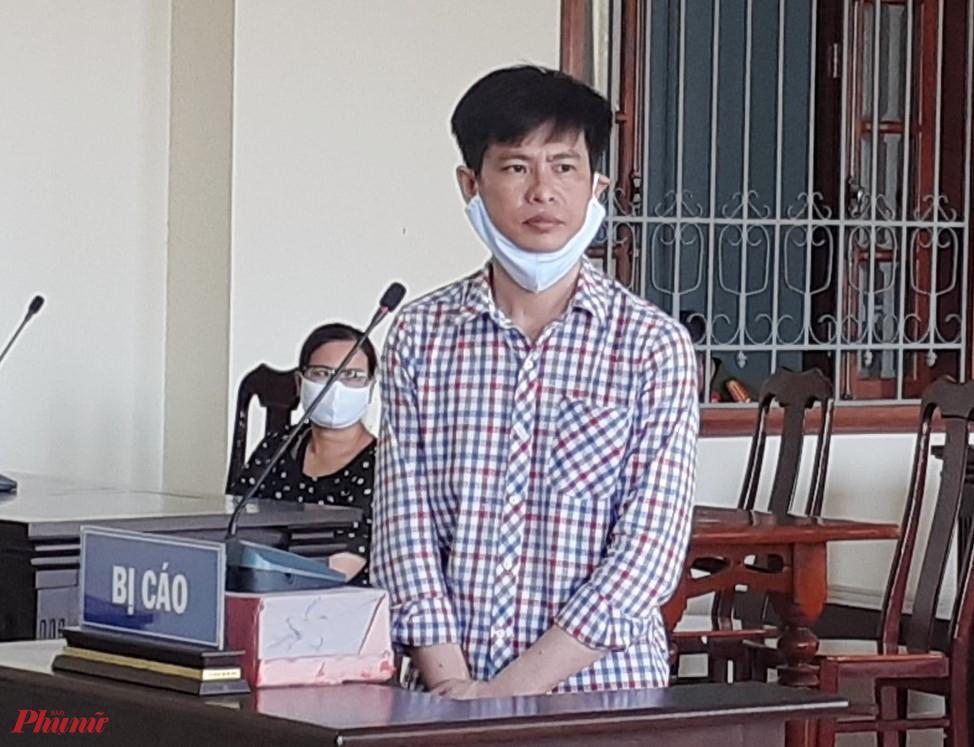 Bị cáo Trần Văn Cường tại phiên tòa