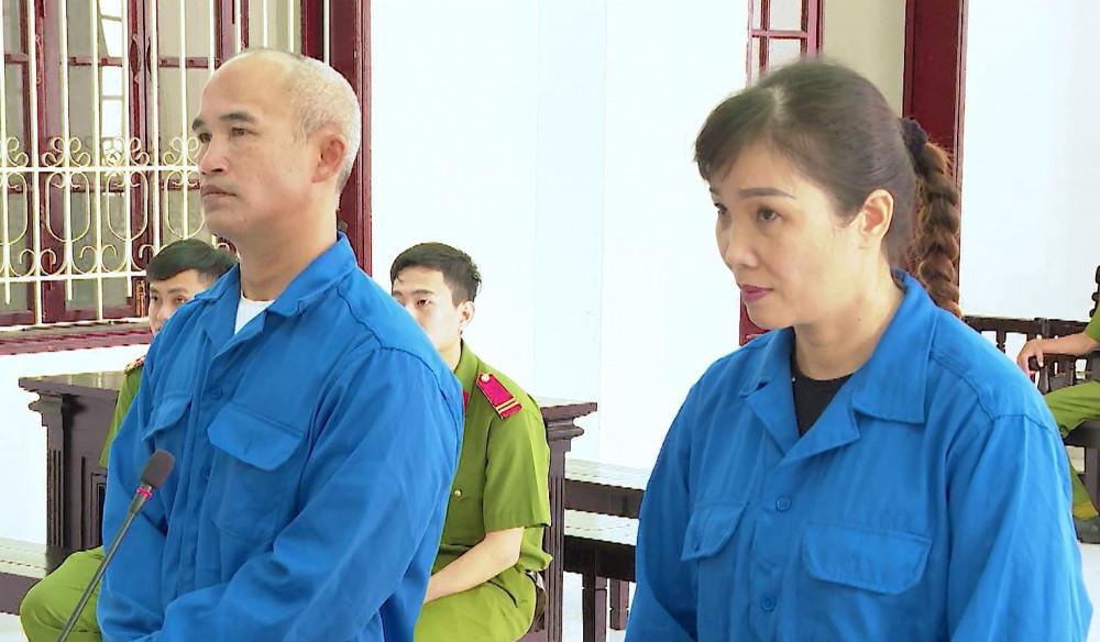 'Cặp đôi' Loan và Cường tại phiên tòa phúc thẩm