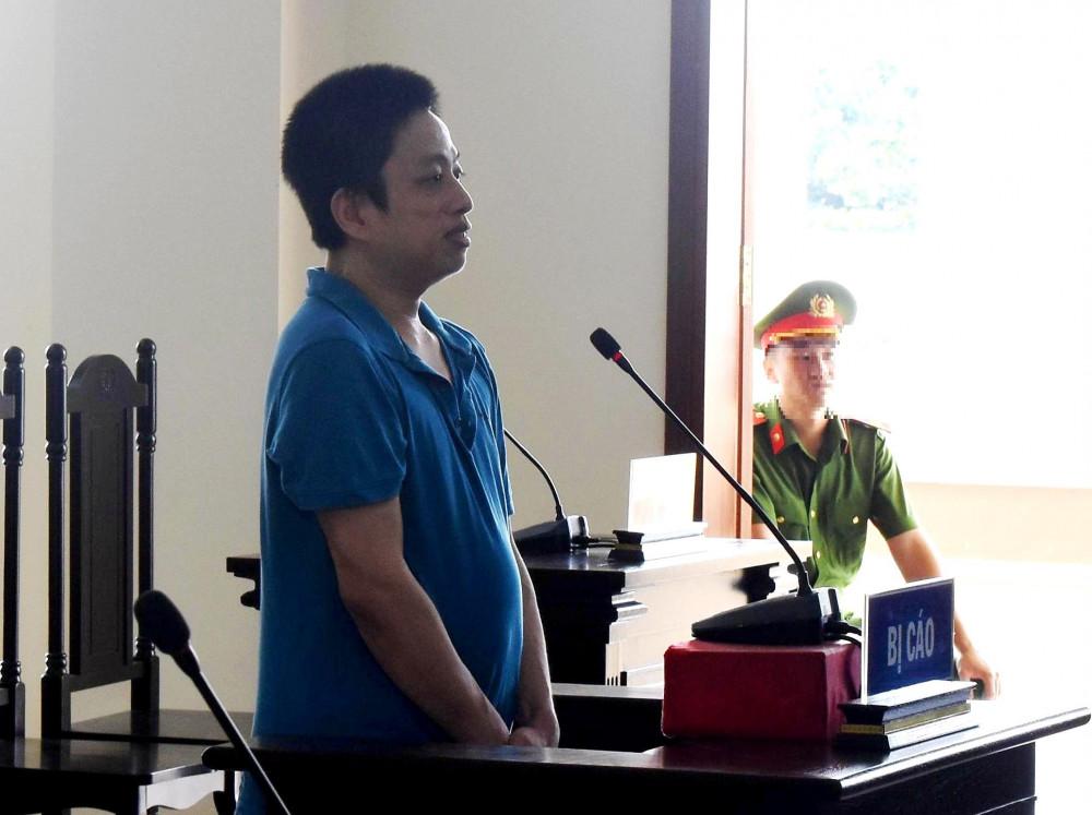 Bị cáo Hổ Minh Hưng tại phiên tòa phúc thẩm
