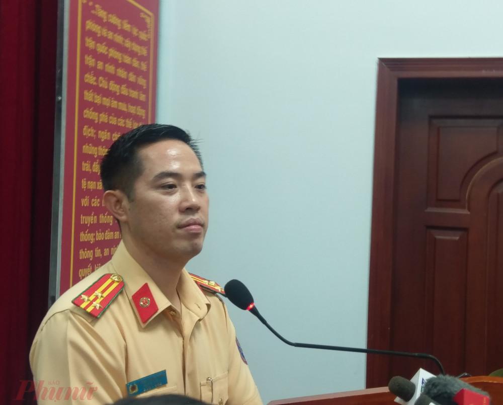 Thượng tá Huỳnh Trung Phong.