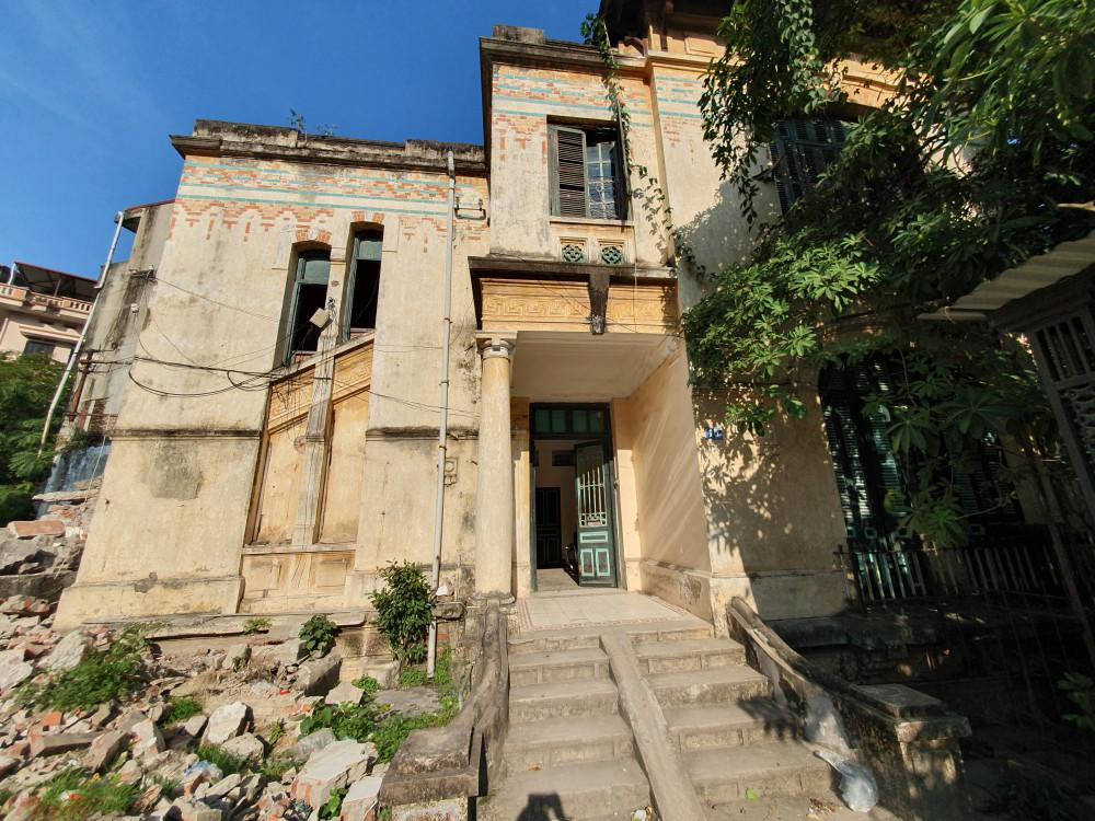 Khu nhà mang nhiều giá trị lịch sử Hà Nội nói riêng và cả nước nói riêng sắp bị phá dỡ - Ảnh: Phong Lê
