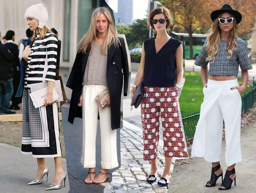 Culottes vẫn đang là mẫu quần được phái đẹp ưa chuộng.