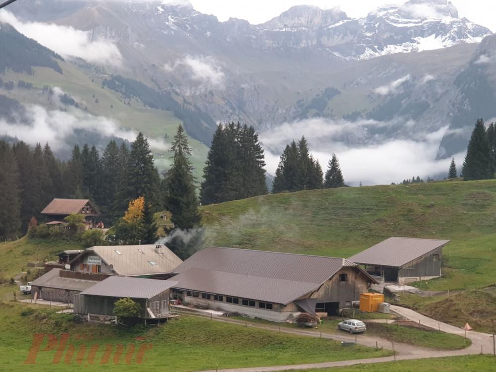 Vùng quê yên bình của Thụy Sĩ