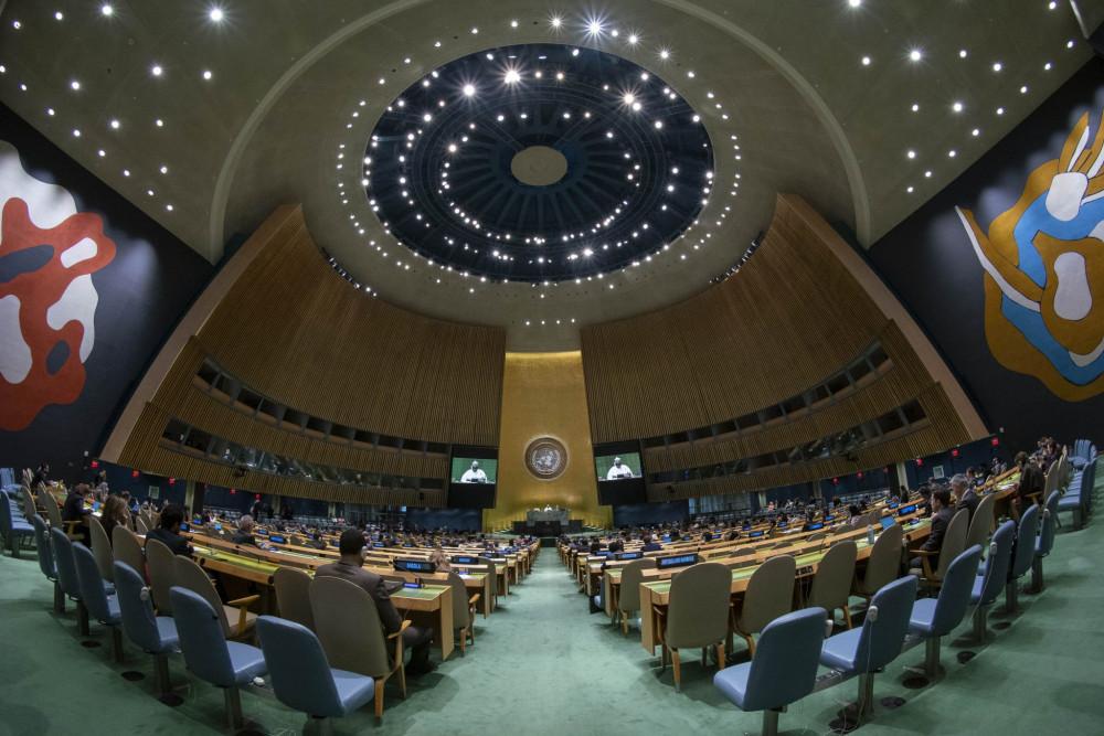 Liên Hiệp Quốc chứng kiến cuộc đối đầu giữa Mỹ và Trung Quốc suốt nhiều tuần, trên nhiều phương diện.