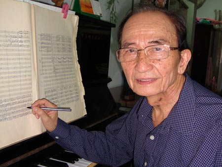 GS-TS-nhạc sĩ Nguyễn Văn Nam có nhiều đóng góp cho sự nghiệp giáo dục âm nhạc.