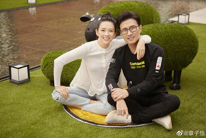 Chương Tử Di và Uông Phong hạnh phúc sau 5 năm kết hôn
