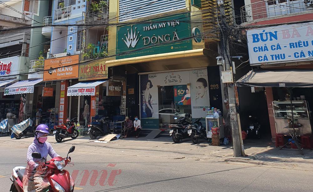 Sau khi có phản ánh của khách hàng, Sở Y tế Đà Nẵng đã vào cuộc kiểm tra toàn diện hoạt động của Thẩm mỹ viện Đông Á.