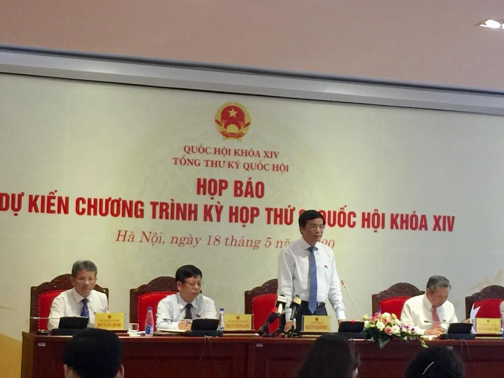 Ông Nguyễn Hạnh Phúc trả lời báo chí liên quan tới vụ án Hồ Duy Hải