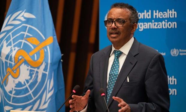 Tổ chức Y tế Thế giới và Tổng giám đốc WHO - Tedros Adhanom Ghebreyesus - đứng trước cuộc điều tra quốc tế về phản ứng trong đại dịch COVID-19.