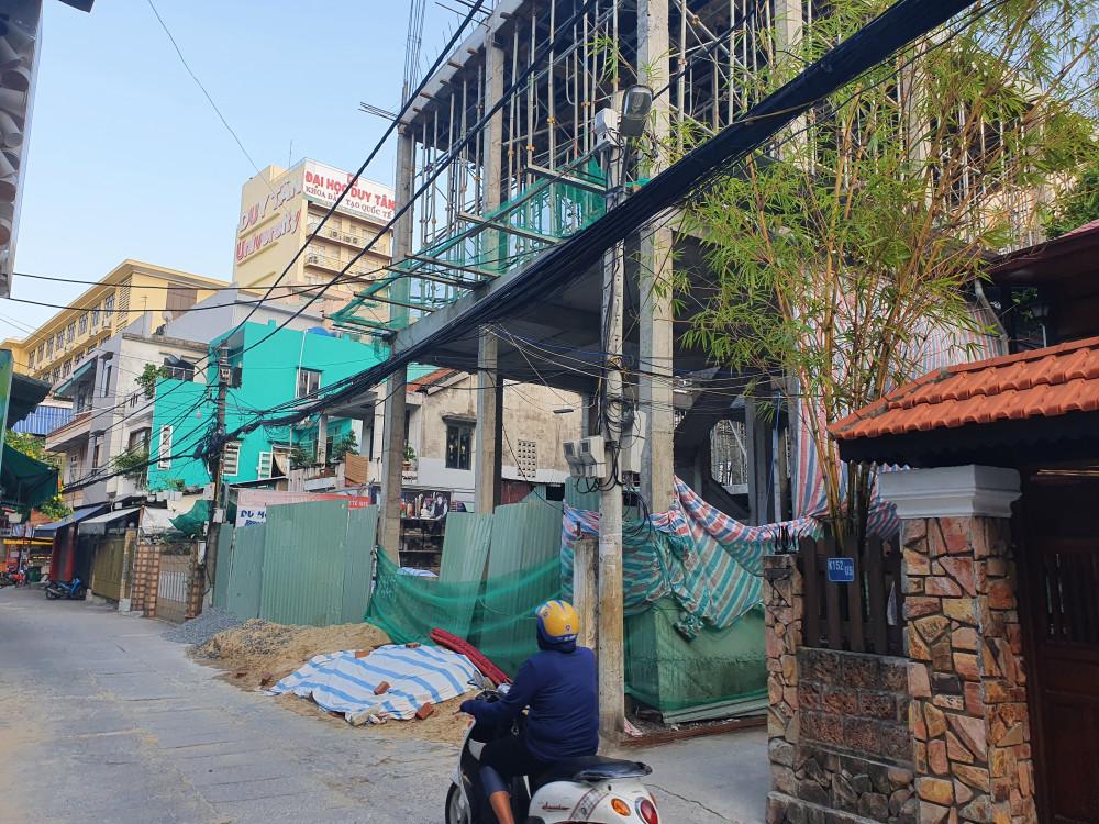 Chủ đầu tư biến nhà riêng lẻ thành 4 khối nhà với mục đích cho thuê