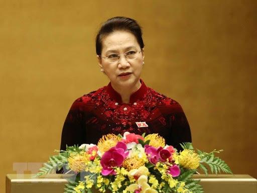 Chủ tịch Quốc hội Nguyễn Thị Kim Ngân khai mạc Kỳ họp thứ 9 Quốc hội khóa XIV