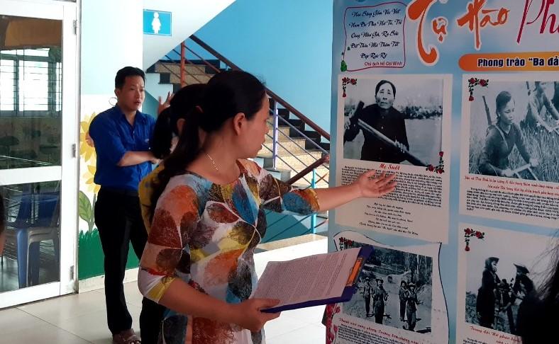 Triển lãm ảnh về hình ảnh người Mẹ Việt Nam, phong trào phụ nữ trong kháng chiến