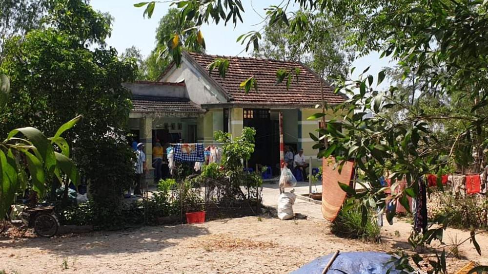 Ngôi nhà của 2 vợ chồng, nơi xảy ra vụ án