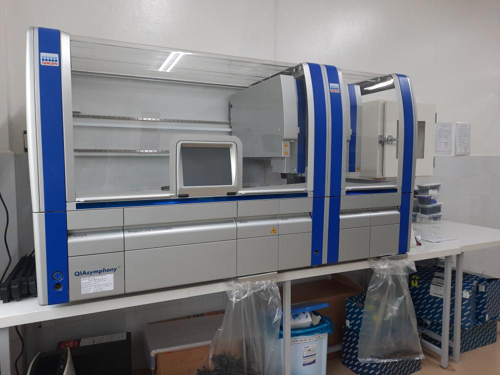 Hệ thống máy xét nghiệm Realtime PCR mà Quảng Nam mua với giá 7,23 tỷ đồng