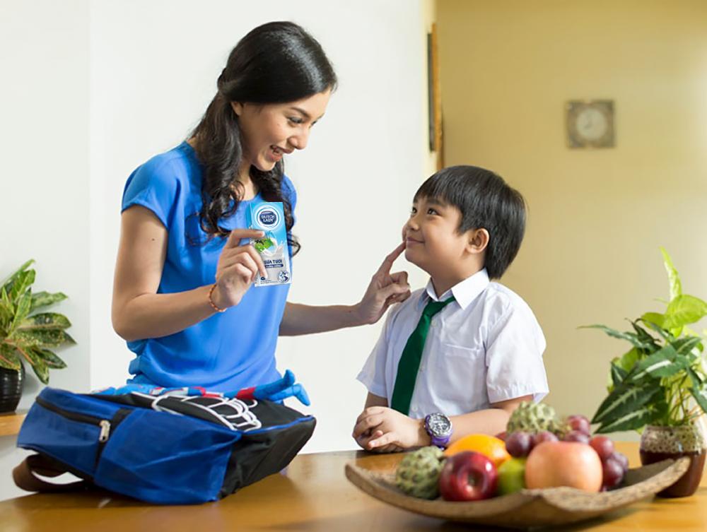 3 hộp sữa tươi Cô Gái Hà Lan sẽ đáp ứng khoảng 101% nhu cầu canxi khuyến nghị dành cho trẻ mỗi ngày