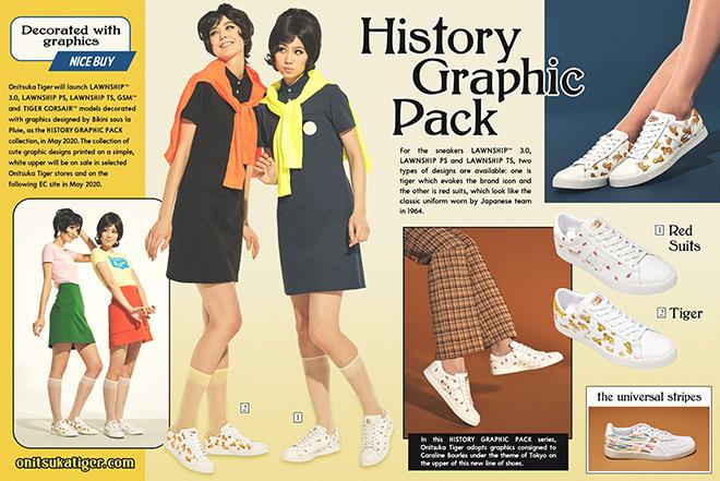 Bộ sưu tập vintage cực kỳ ấn tượng của Onitsuka Tiger mùa hè 2020