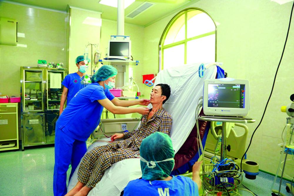 Bệnh nhân Trần Ngọc Hanh sau ca ghép phổi đầu tiên từ người cho chết não