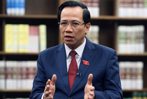 Bộ trưởng Đào Ngọc Dung vừa có báo cáo