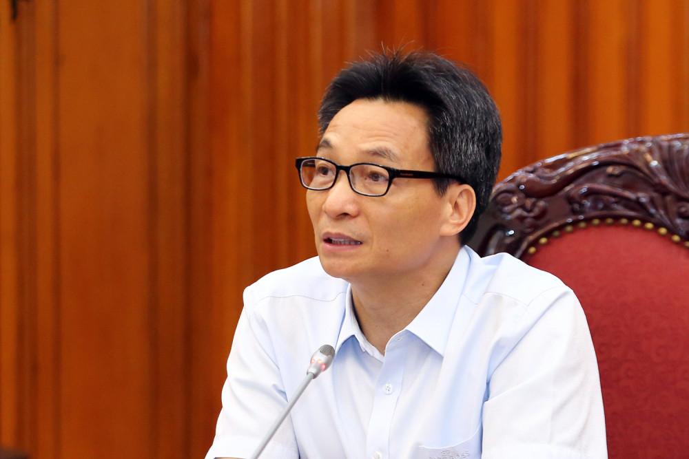 Phó Thủ tướng Vũ Đức Đam: Cuộc chiến này còn rất dài và Việt Nam vẫn đồng hành cùng cộng đồng quốc tế trong công tác phòng, chống dịch. Ảnh: VGP/Đình Nam