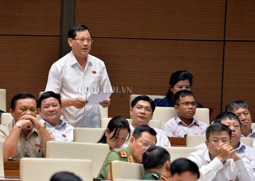 ĐBQH Nguyễn Hữu Cầu lập tức phản bác lại quan điểm của ĐBQH Nguyễn Mai Bộ tại phiên thảo luận