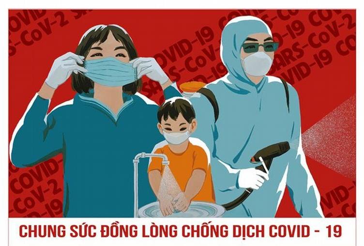Hiệu quả trong công tác phòng chống dịch COVID-19 của Việt Nam được thế giới quan tâm. Ảnh minh hoạ từ internet