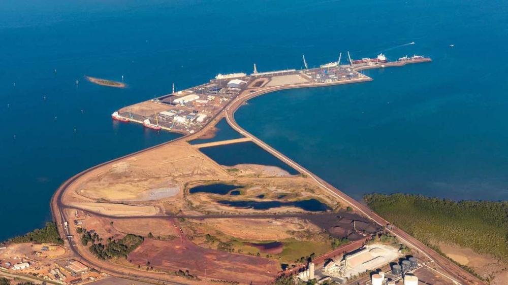 """Thượng nghị sĩ Concetta Fierrabidei-Wells: Những lo ngại về an ninh """"đủ để hủy hợp đồng thuê đất của Trung Quốc tại cảng Darwin"""" -  Ảnh: News Corp Australia"""