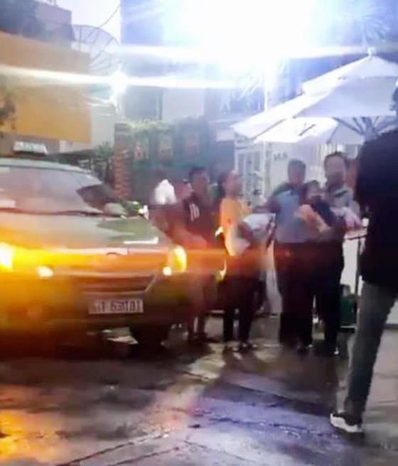 Hình ảnh Tâm trong đoạn clip vụ việc liên quan đến cựu thẩm phán Nguyễn Hải Nam xâm phạm chỗ ở người khác.