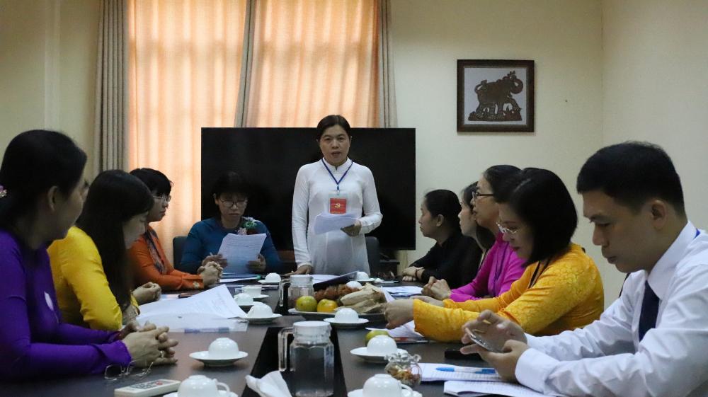 Phiên họp đầu tiên của Ban chấp hành nhiệm kỳ 2020-2025