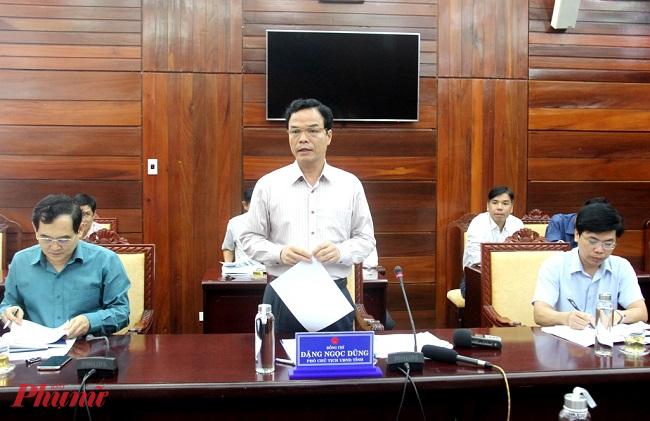 Ông Đặng Ngọc Dũng -Phó trưởng ban chỉ đạo phòng chống dịch bệnh COVID-19 tỉnh Quảng Ngãi