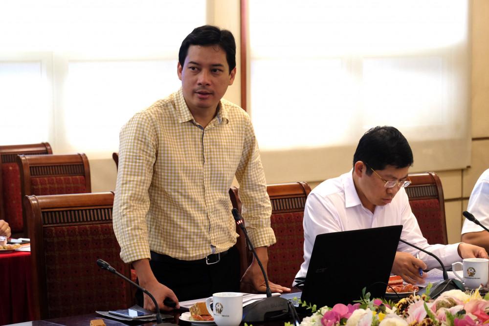 Ông Lê Quang Tự Do - Phó Cục trưởng Cục Phát thanh Truyền hình & Thông tin điện tử chia sẻ những điểm mới trong đề nghị xây dựng Nghị định sửa đổi, bổ sung Nghị định 72/2013