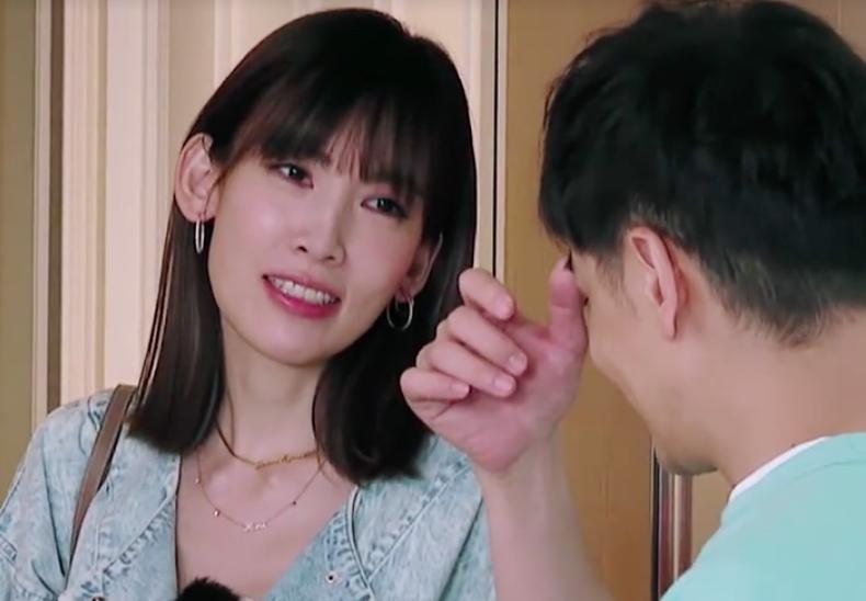 Trần Nhược Nghi và Lâm Chí Dĩnh trong chương trình Mẹ và mẹ chồng