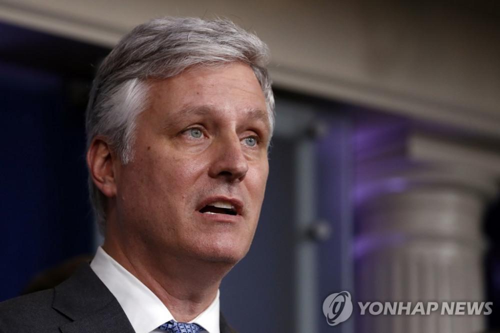 Cố vấn an ninh quốc gia Hoa Kỳ Robert O'Brien kêu gọi Triều Tiên từ bỏ chương trình hạt nhân.