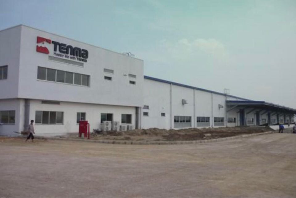 Công ty TNHH Tenma Việt Nam đặt tại Bắc Ninh