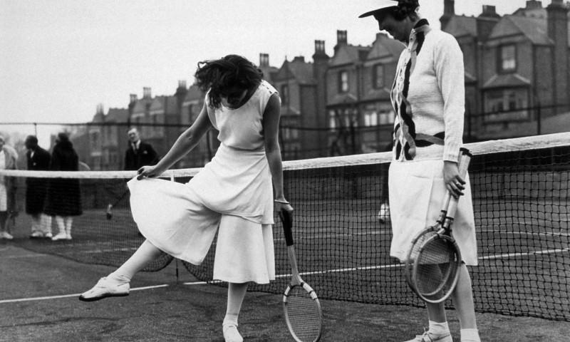 Lili de Alvarez tại giải đấu Wimbledon năm 1931