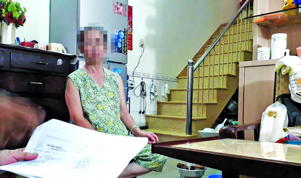 Bà Trần Thị A bị lấy thông tin cá nhân để lập hợp đồng khống, rút ruột ngân sách