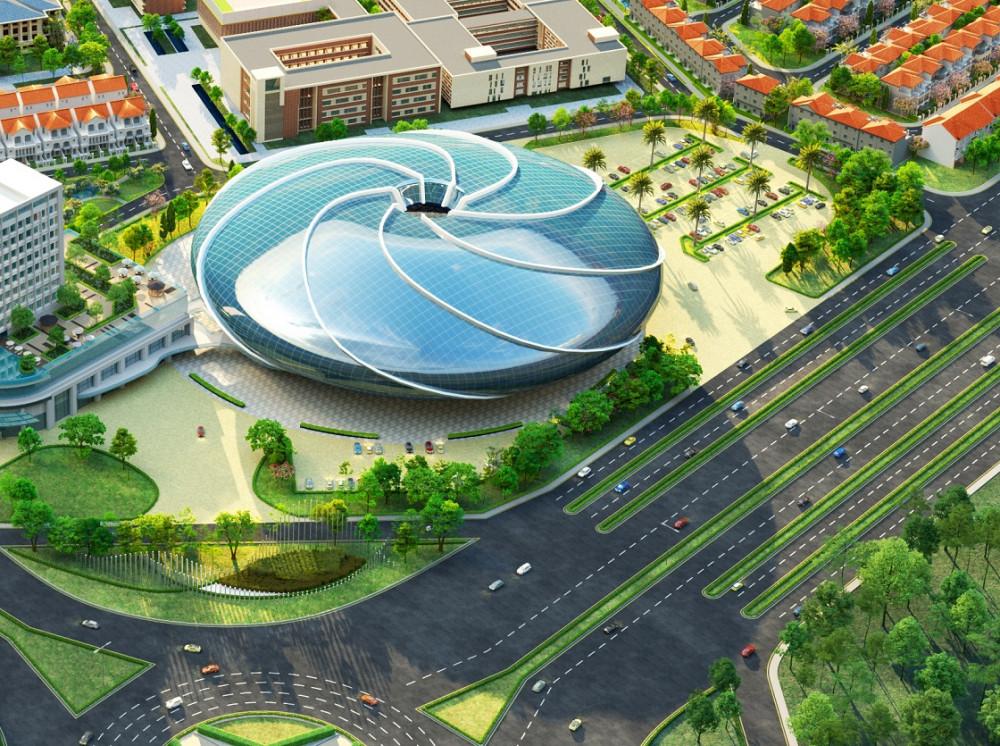 Trung tâm giải trí đa năng trong nhà Aqua Arena