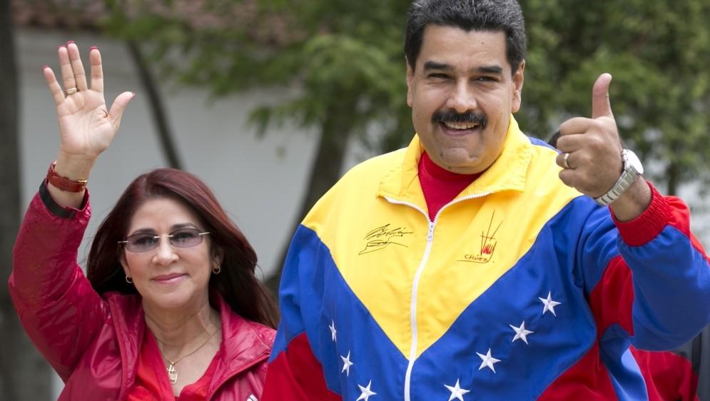 Đệ nhất phu nhân Cilia Flores là cánh tay phải của chồng, Tổng thống Venezuela Nicolás Maduro