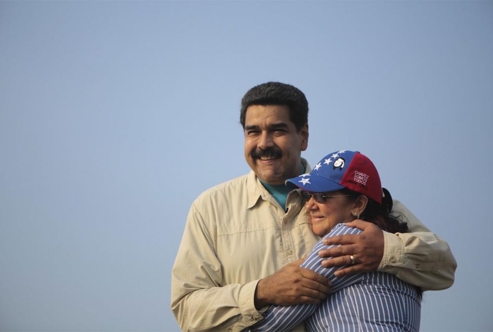 Cặp vợ chồng liên minh chính trị Maduro - Flores